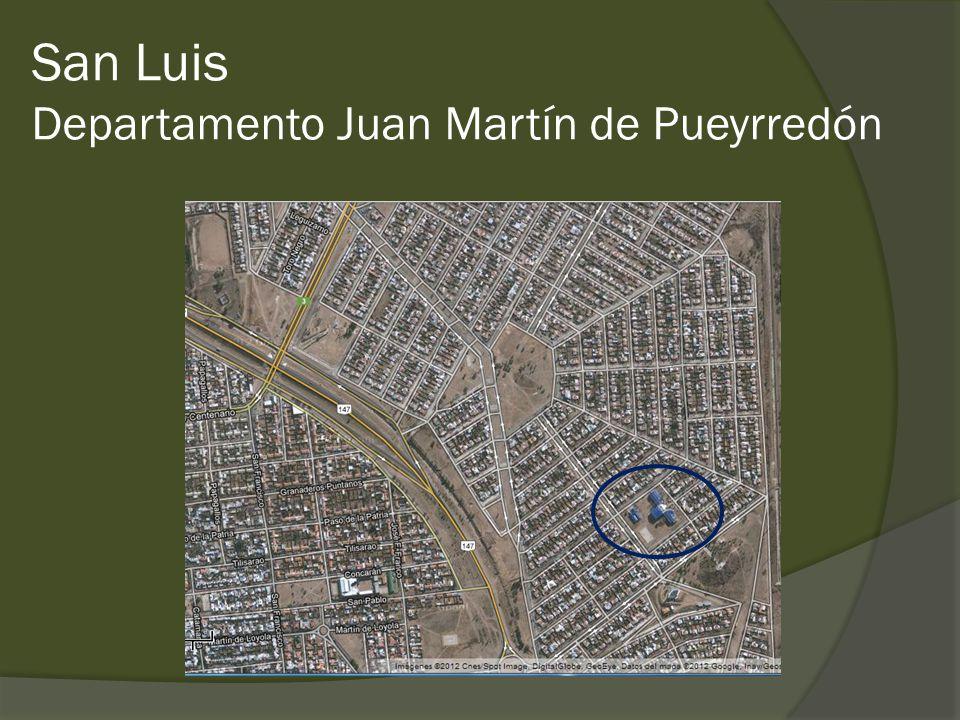 San Luis Departamento Juan Martín de Pueyrredón