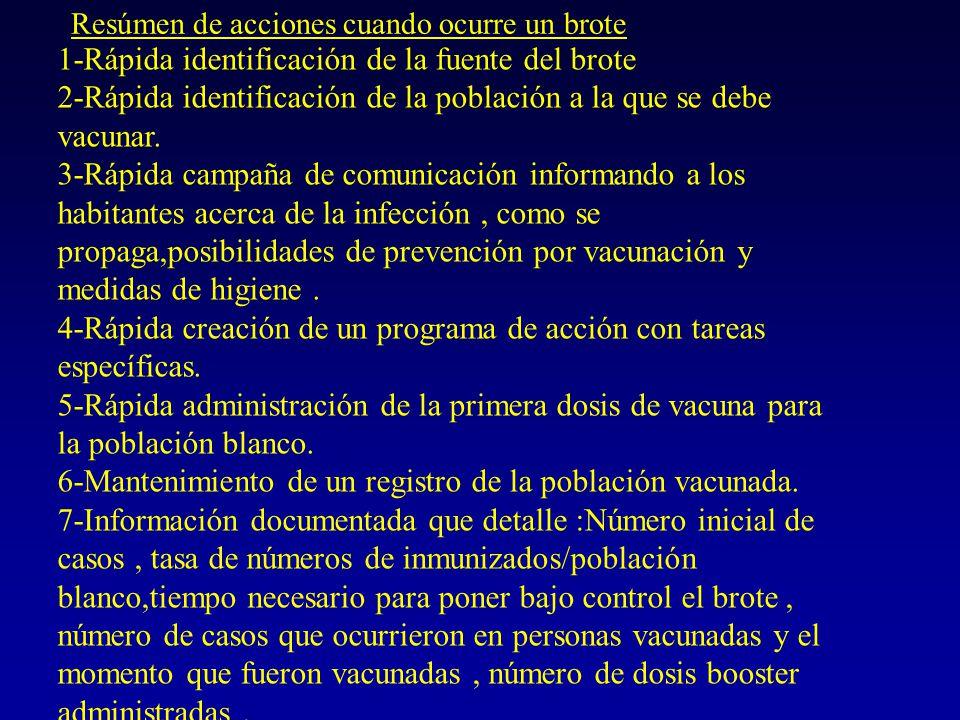 Dirección de Epidemiología del Ministerio de Salud de la Nación Boletin de vacunas Indicación y edad para la vacunación de Hepatitis A La decisión de la utilización de la vacuna de HAV en una población depende de las prioridades de ese país, del costo-beneficio, de la percepción de la severidad del problema y de la importancia del mismo.Los Centros de control de enfermedades recomienda la utilización de la vacuna en comunidades con incidencia de> de 20 casos /100.000 habitantes.