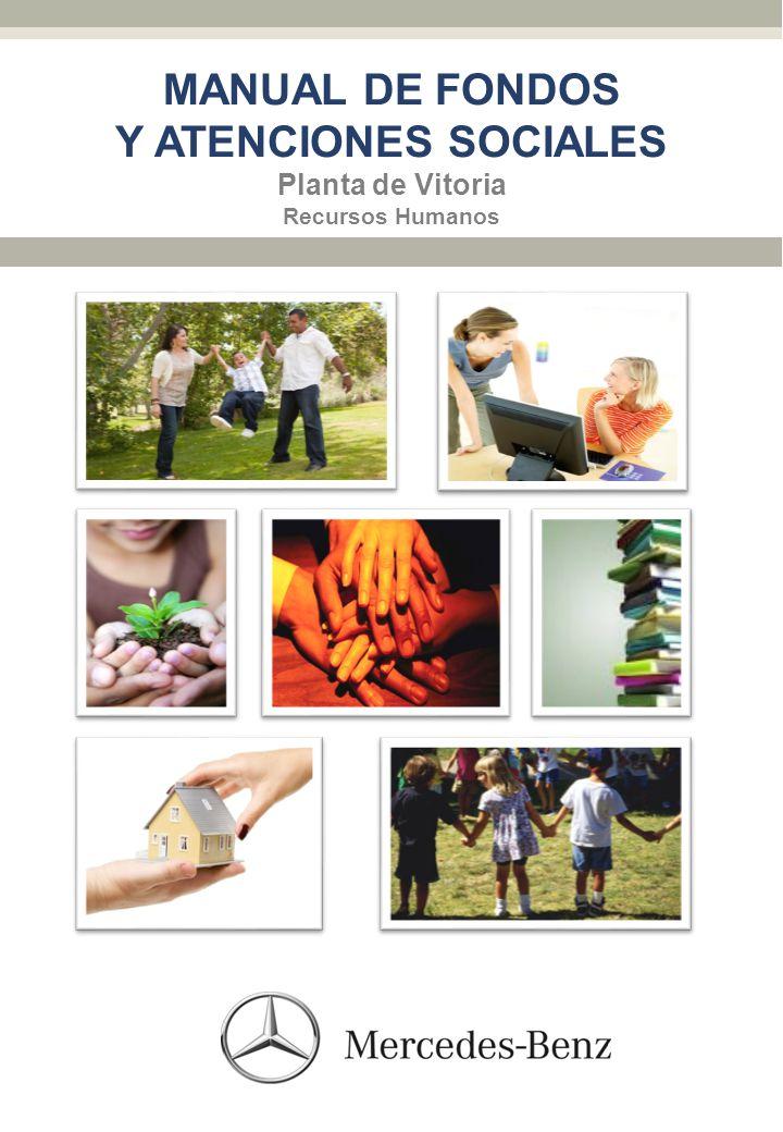 MANUAL DE FONDOS Y ATENCIONES SOCIALES Planta de Vitoria Recursos Humanos