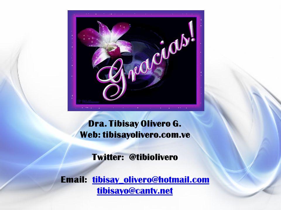 Dra. Tibisay Olivero G.