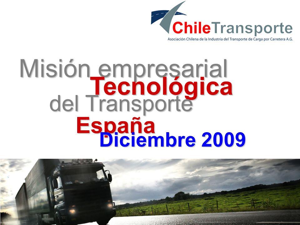 1 Misión empresarial Tecnológica del Transporte España Diciembre 2009