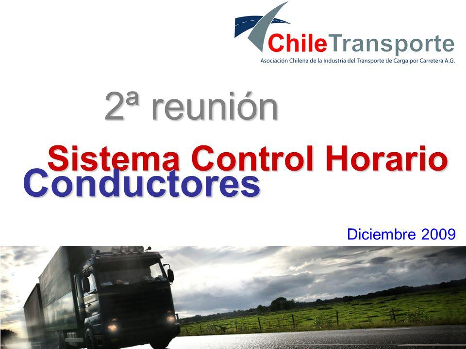 6 2ª reunión Sistema Control Horario Diciembre 2009 Conductores