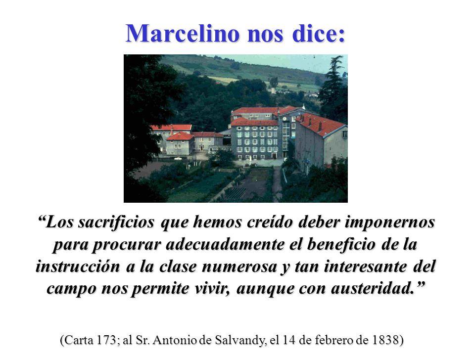 (Carta 135; Circular a todos los Hermanos, el 4 de septiembre de 1837) Dios nos ha llamado a ser santos.