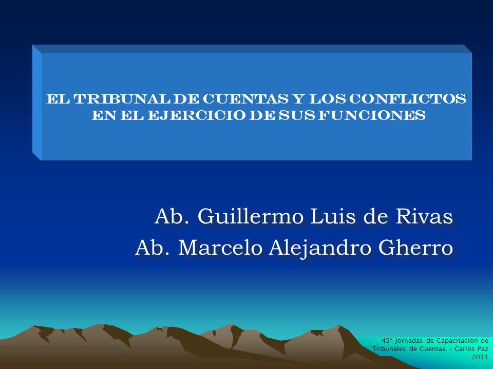 Ab. Guillermo Luis de Rivas Ab. Marcelo Alejandro Gherro Ab.