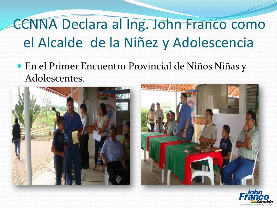 CCNNA Declara al Ing.