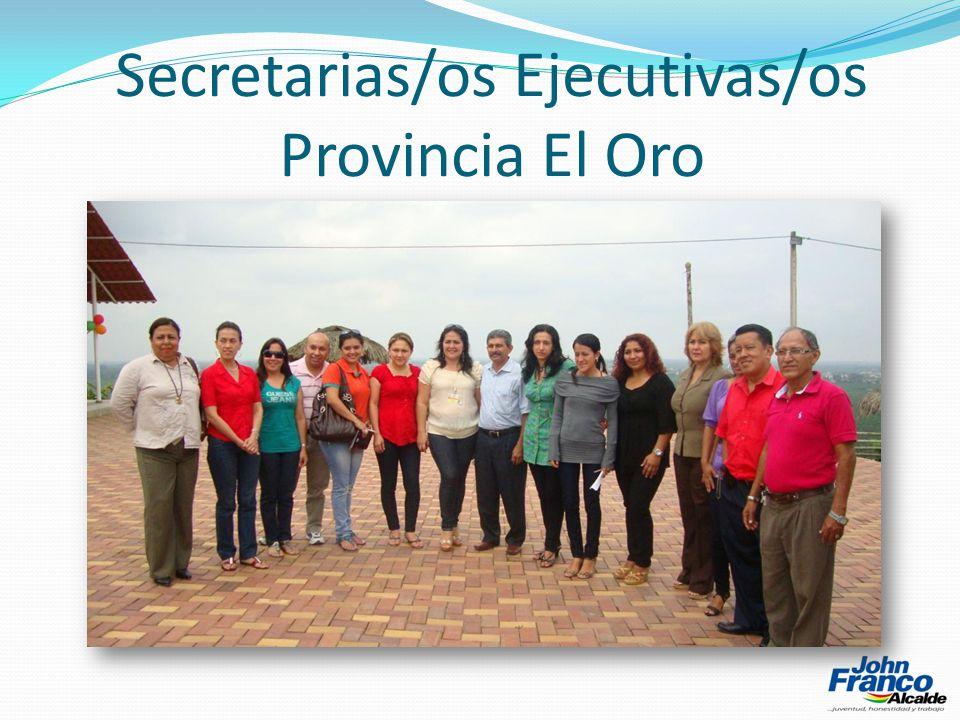 Secretarias/os Ejecutivas/os Provincia El Oro