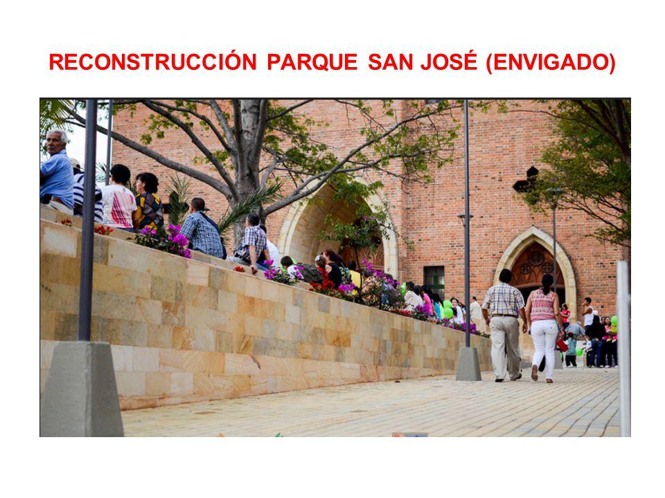 RECONSTRUCCIÓN PARQUE SAN JOSÉ (ENVIGADO)