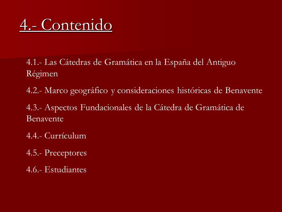 "La presentaci�n ""LA C�TEDRA DE GRAM�TICA DE BENAVENTE (1589-1845 ..."