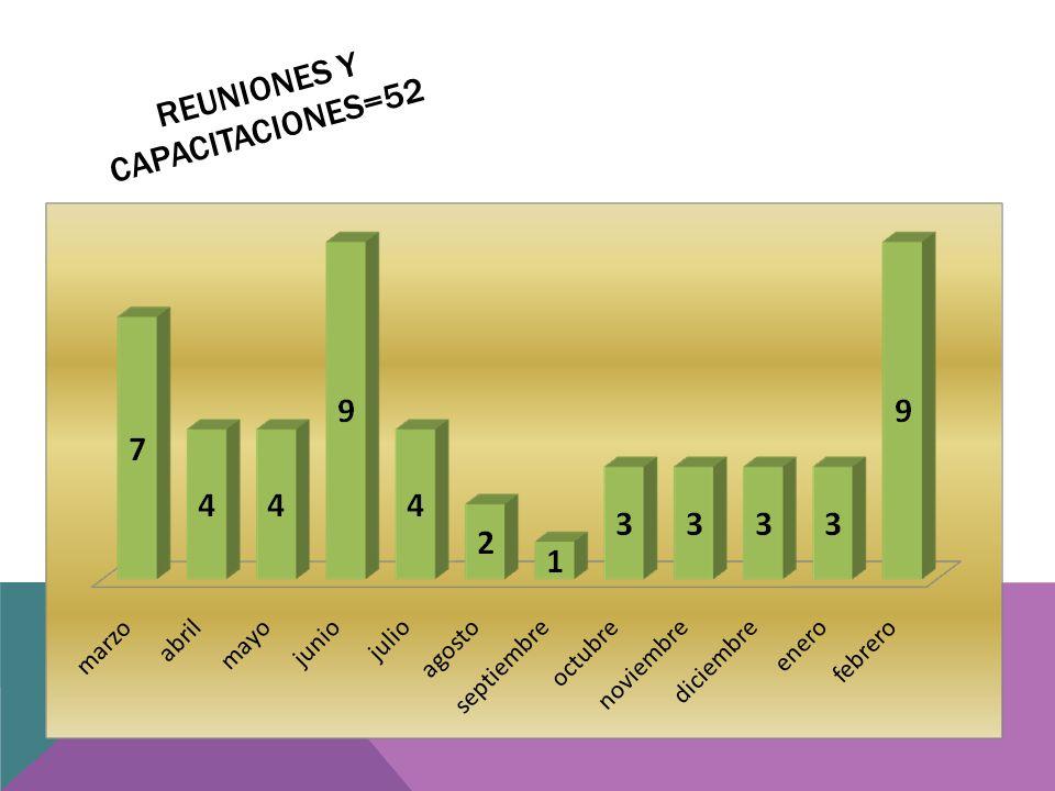 REUNIONES Y CAPACITACIONES=52