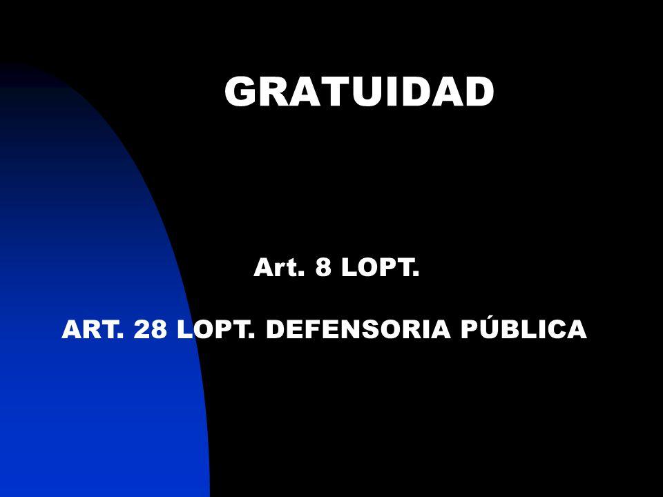 CONCENTRACIÓN Y BREVEDAD Art. 129 LOPT No Cuestiones Previas.