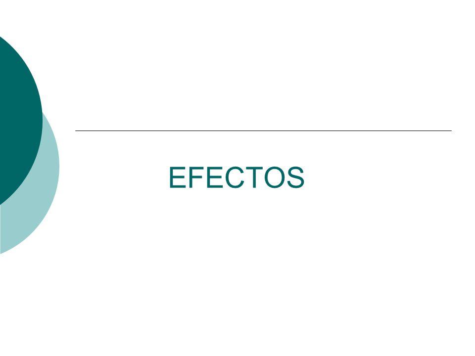 EFECTOS
