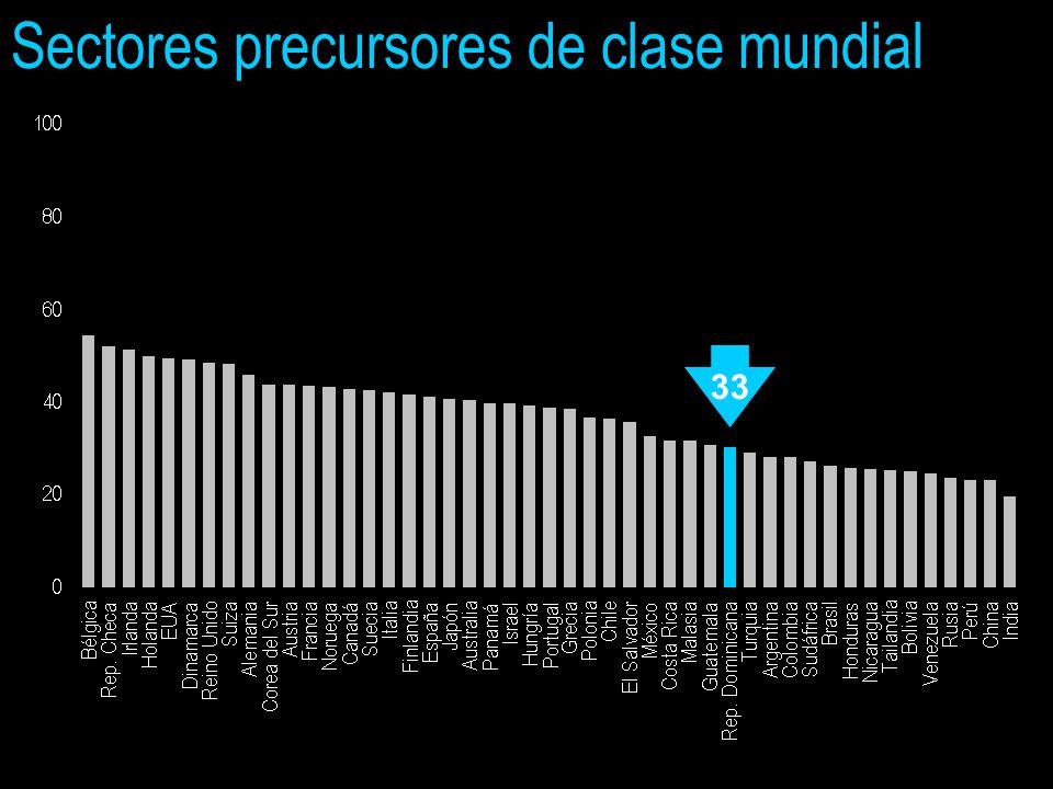Sectores precursores de clase mundial 33