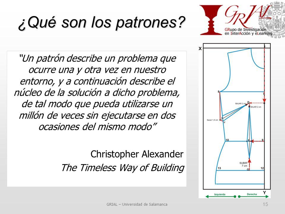 ¿Qué son los patrones.