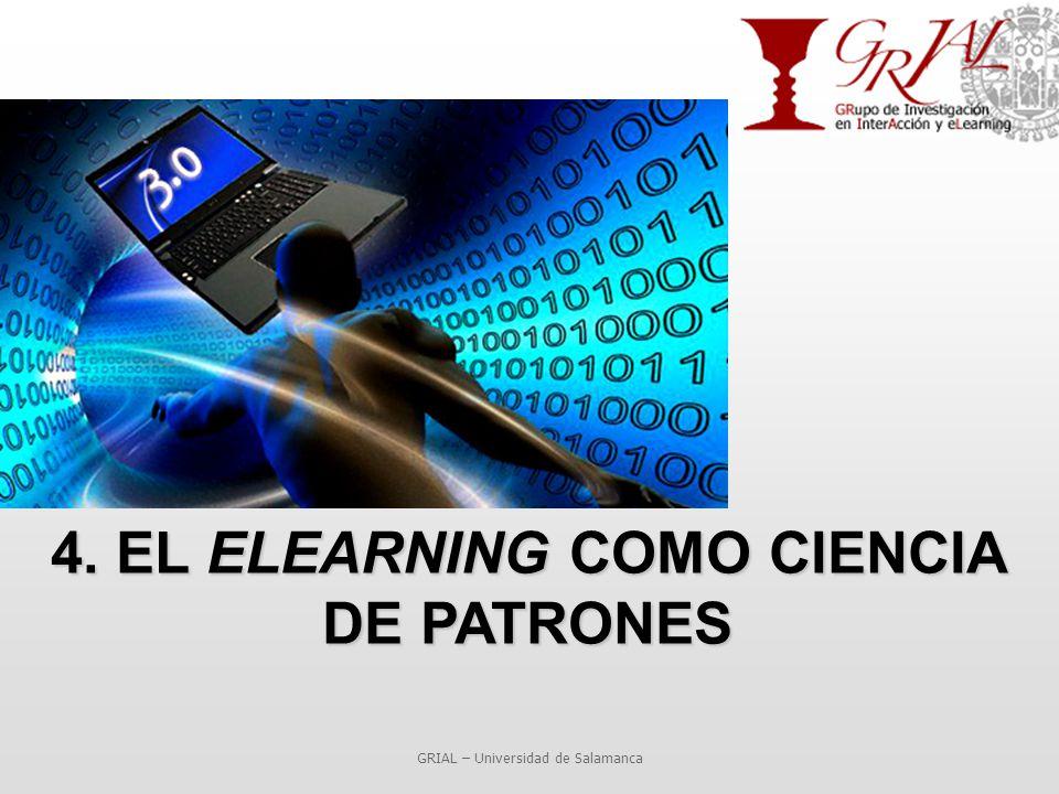 4. EL ELEARNING COMO CIENCIA DE PATRONES GRIAL – Universidad de Salamanca