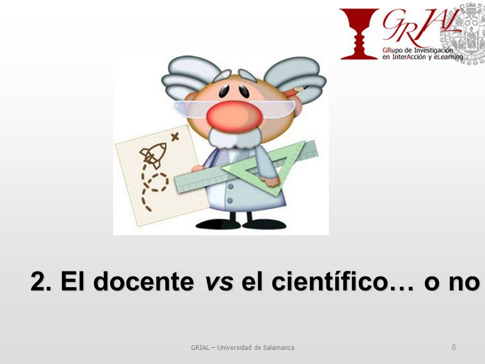 8 2. El docente vs el científico… o no
