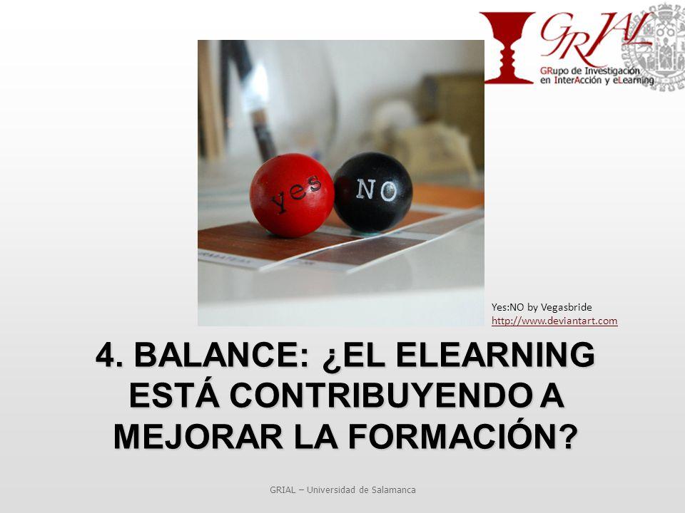 4. BALANCE: ¿EL ELEARNING ESTÁ CONTRIBUYENDO A MEJORAR LA FORMACIÓN.
