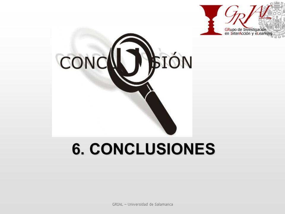 6. CONCLUSIONES GRIAL – Universidad de Salamanca