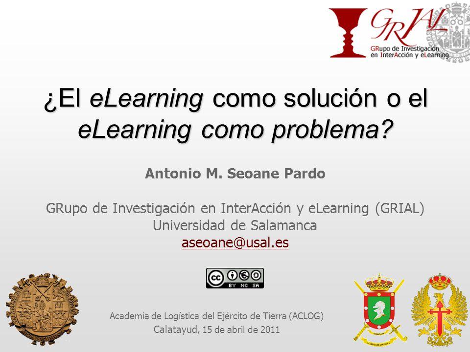 ¿El eLearning como solución o el eLearning como problema.