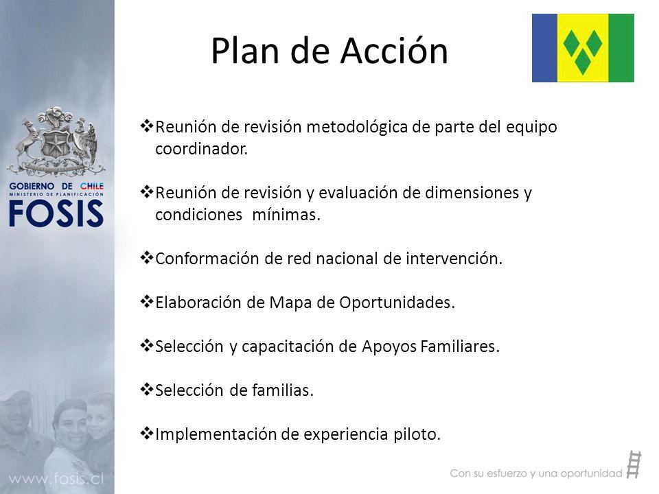 Plan de Acción  Reunión de revisión metodológica de parte del equipo coordinador.