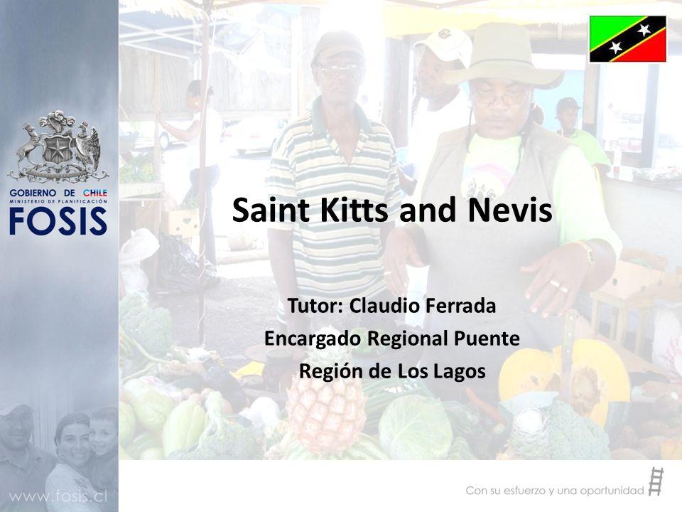 Saint Kitts and Nevis Tutor: Claudio Ferrada Encargado Regional Puente Región de Los Lagos