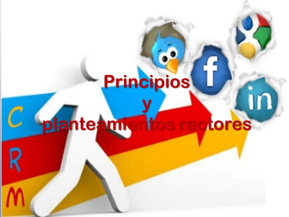 Principiosy planteamientos rectores
