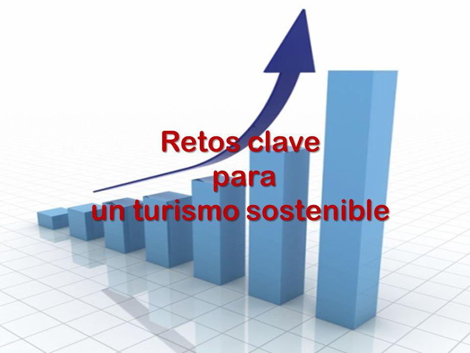 Retos clave para para un turismo sostenible