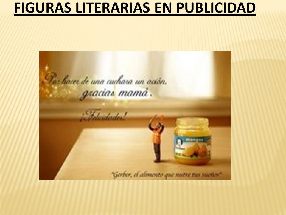 FIGURAS LITERARIAS EN PUBLICIDAD