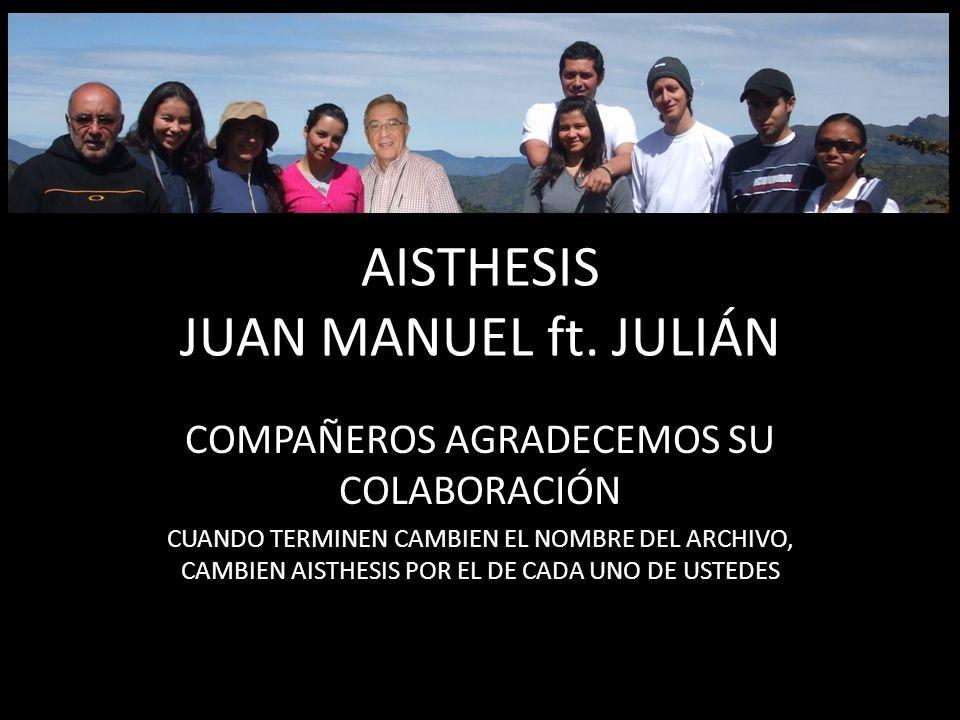 AISTHESIS JUAN MANUEL ft.