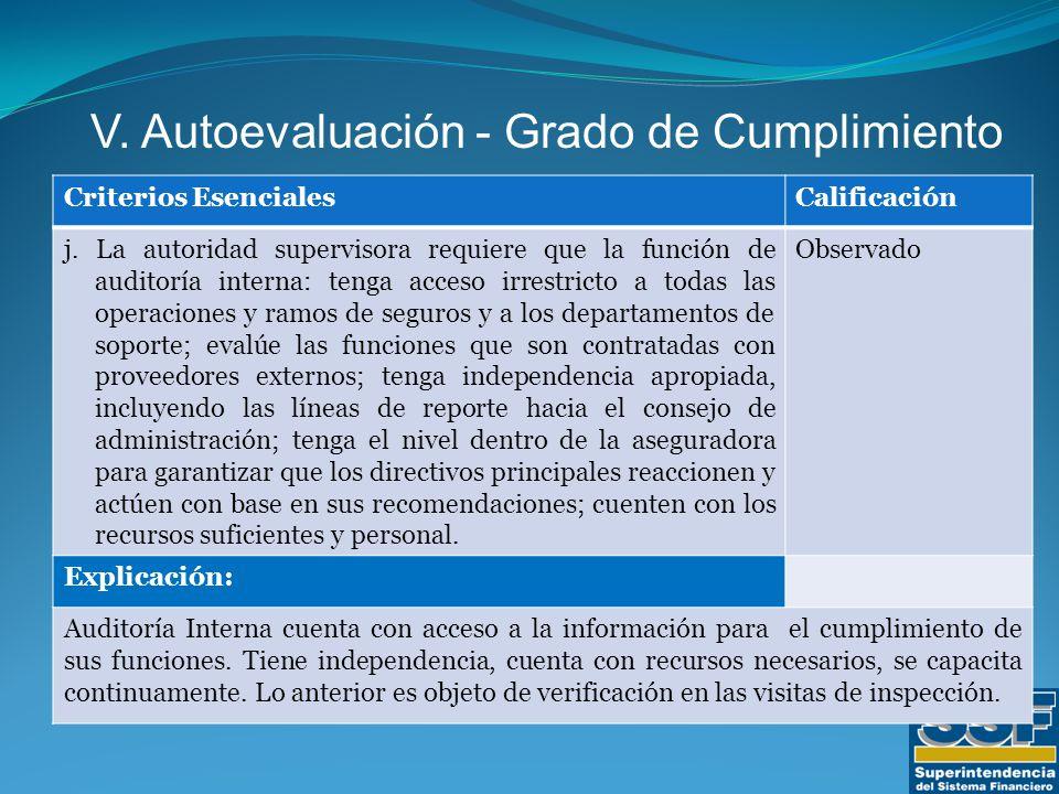 Criterios EsencialesCalificación j.