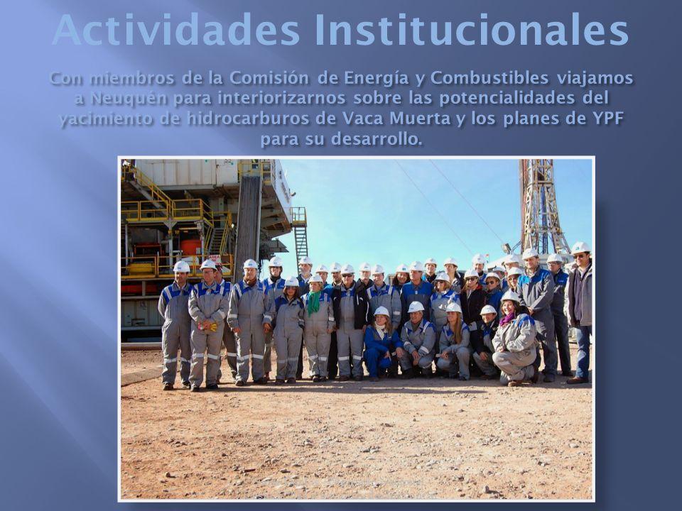 Actividades Institucionales