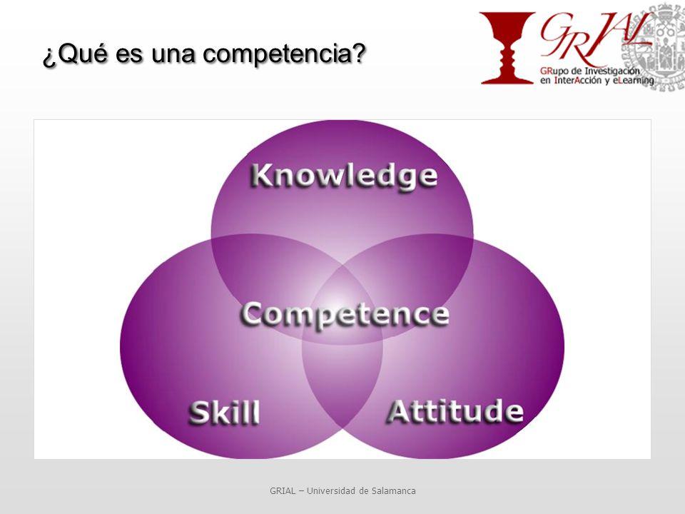 ¿Qué es una competencia GRIAL – Universidad de Salamanca