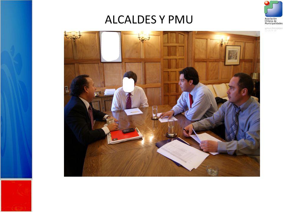ALCALDES Y PMU