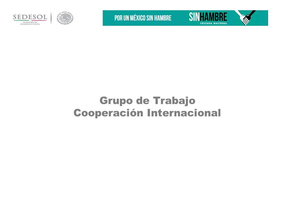 Grupo de Trabajo Cooperación Internacional