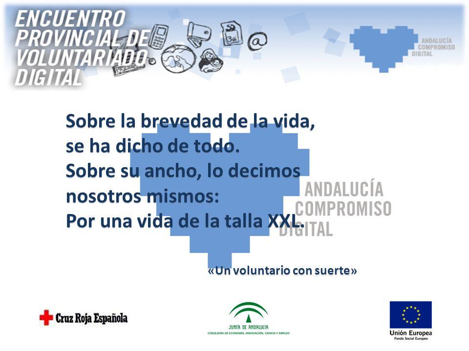 ENCUENTRO PROVINCIAL DE VOLUNTARIADO DIGITAL Mairena del Aljarafe (Sevilla) 14 y 15 de Junio de 2014