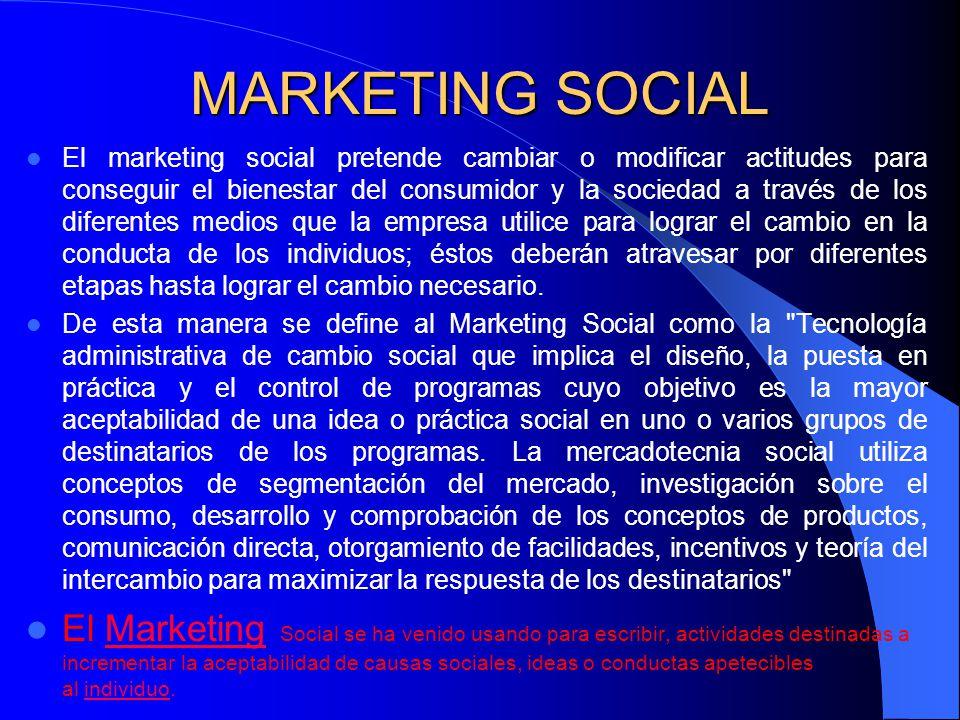 MARKETING La palabra marketing no supone un significado uniforme.
