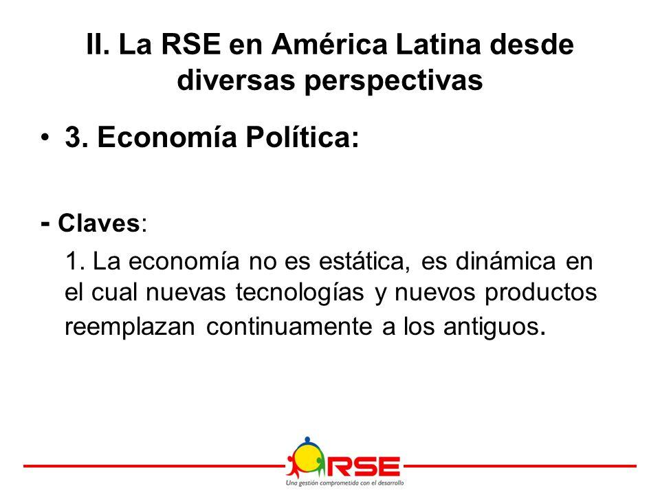 3. Economía Política: - Claves: 1.