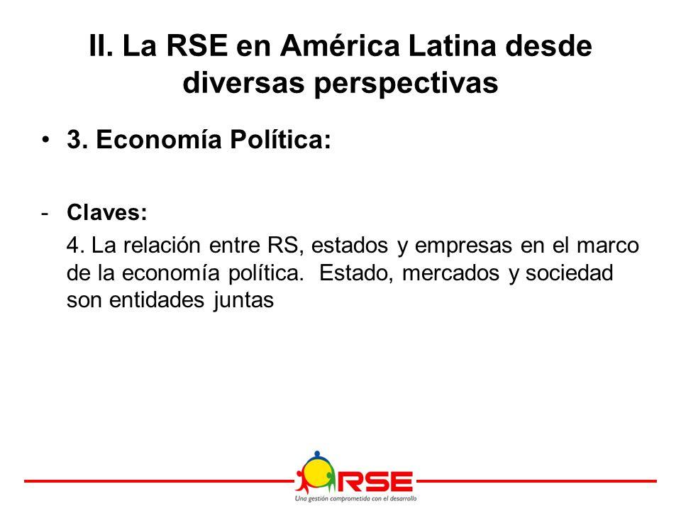 3. Economía Política: -Claves: 4.