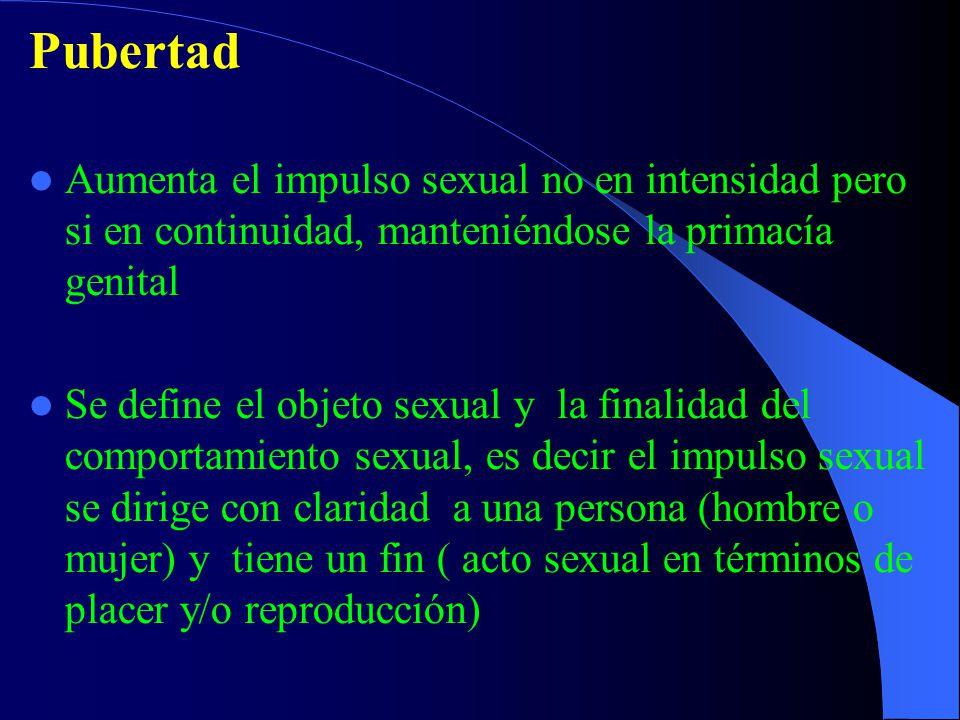 El autoerotismo se expresa en el fenómeno masturbatorio como respuesta al impulso preparatorio que libera la tensión producida por la excitabilidad, y tiende a ser privado porque predomina la vivencia placentera corporal en las áreas genitales.