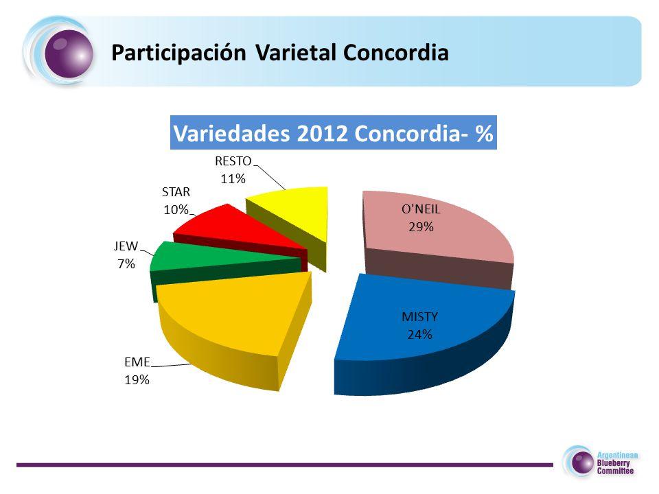 Participación Varietal Concordia