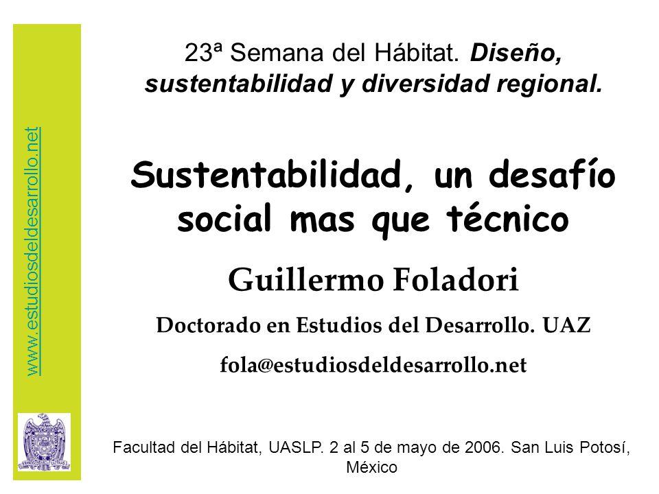 23ª Semana del Hábitat. Diseño, sustentabilidad y diversidad regional.