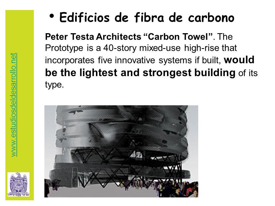 Edificios de fibra de carbono Peter Testa Architects Carbon Towel .
