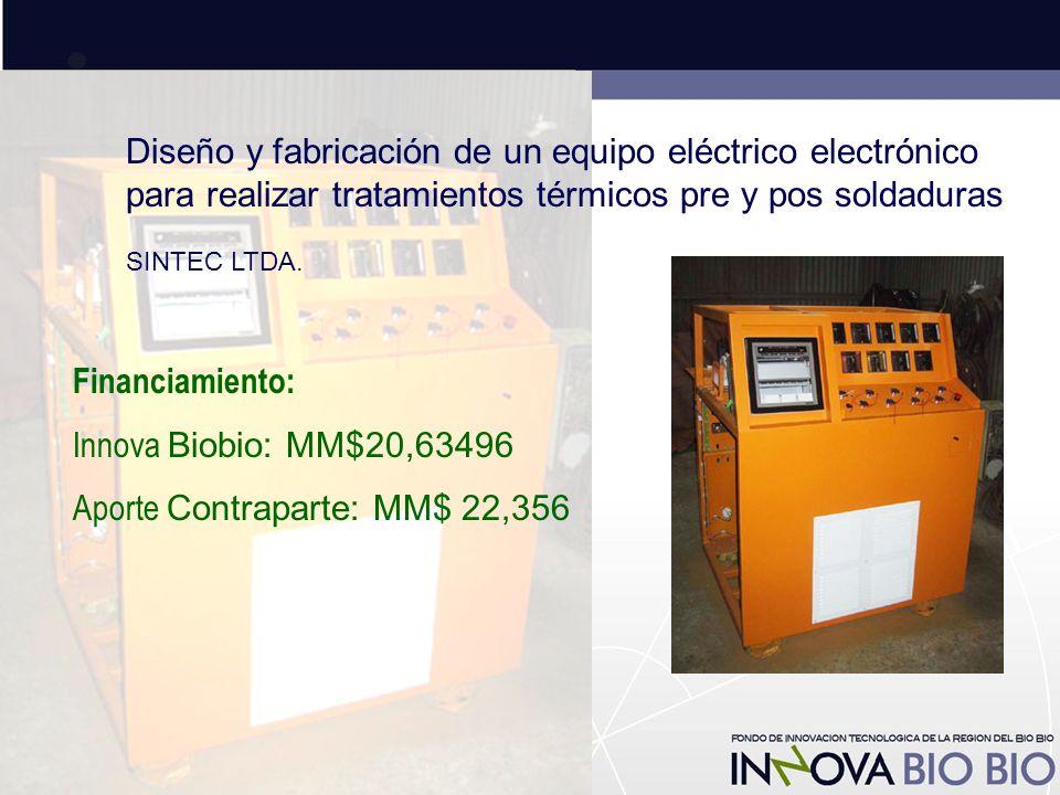 Diseño y fabricación de un equipo eléctrico electrónico para realizar tratamientos térmicos pre y pos soldaduras SINTEC LTDA.
