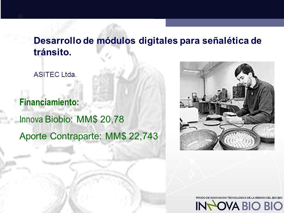 Desarrollo de módulos digitales para señalética de tránsito.