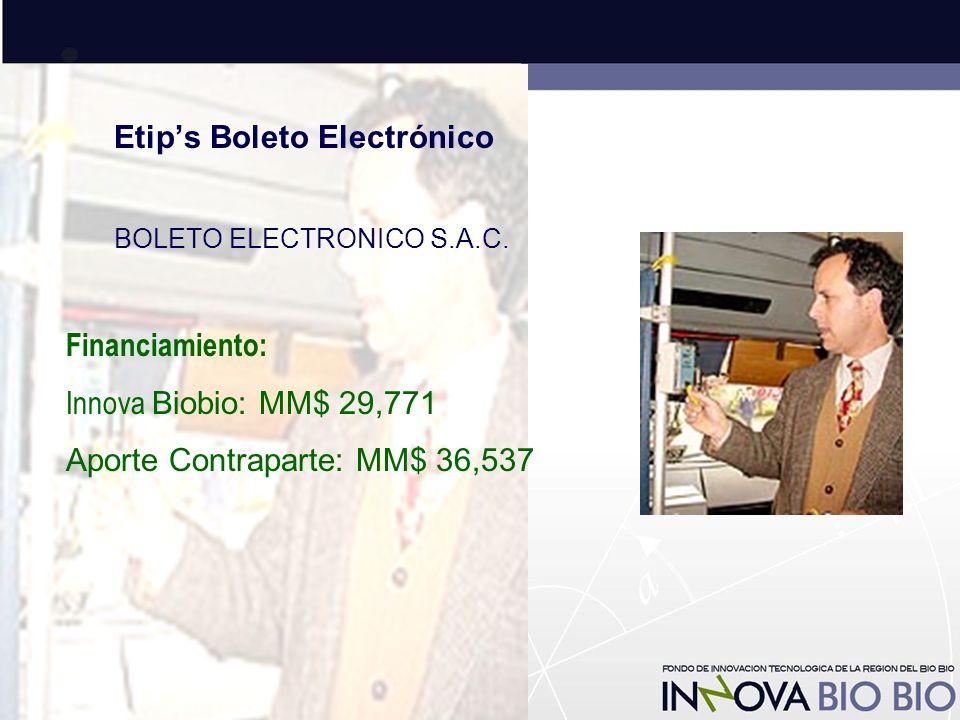 Etip's Boleto Electrónico BOLETO ELECTRONICO S.A.C.