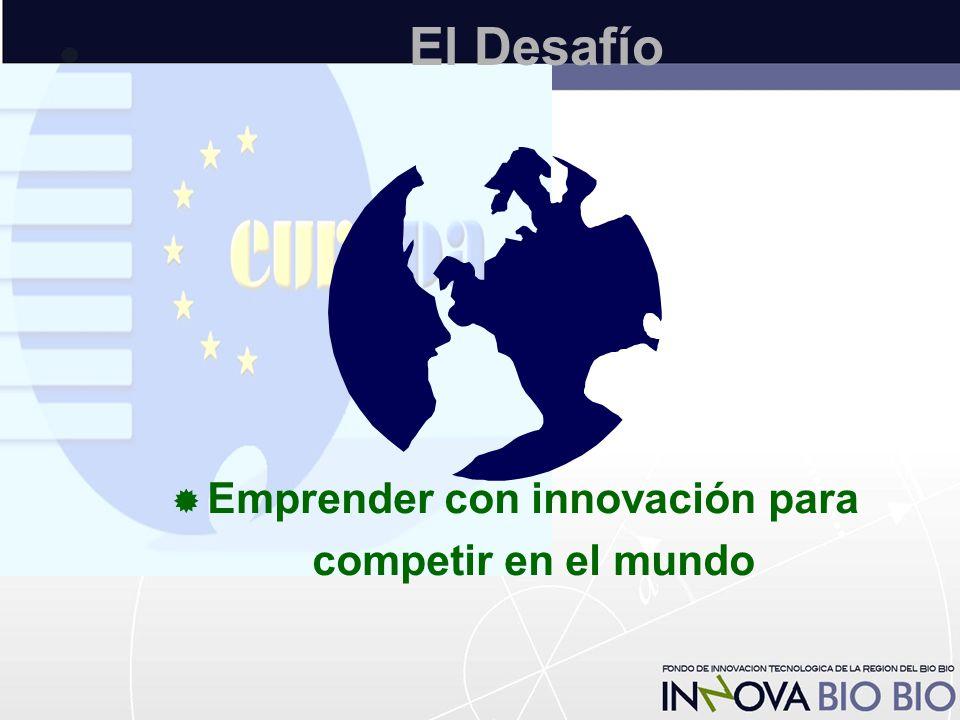 El Desafío  Emprender con innovación para competir en el mundo