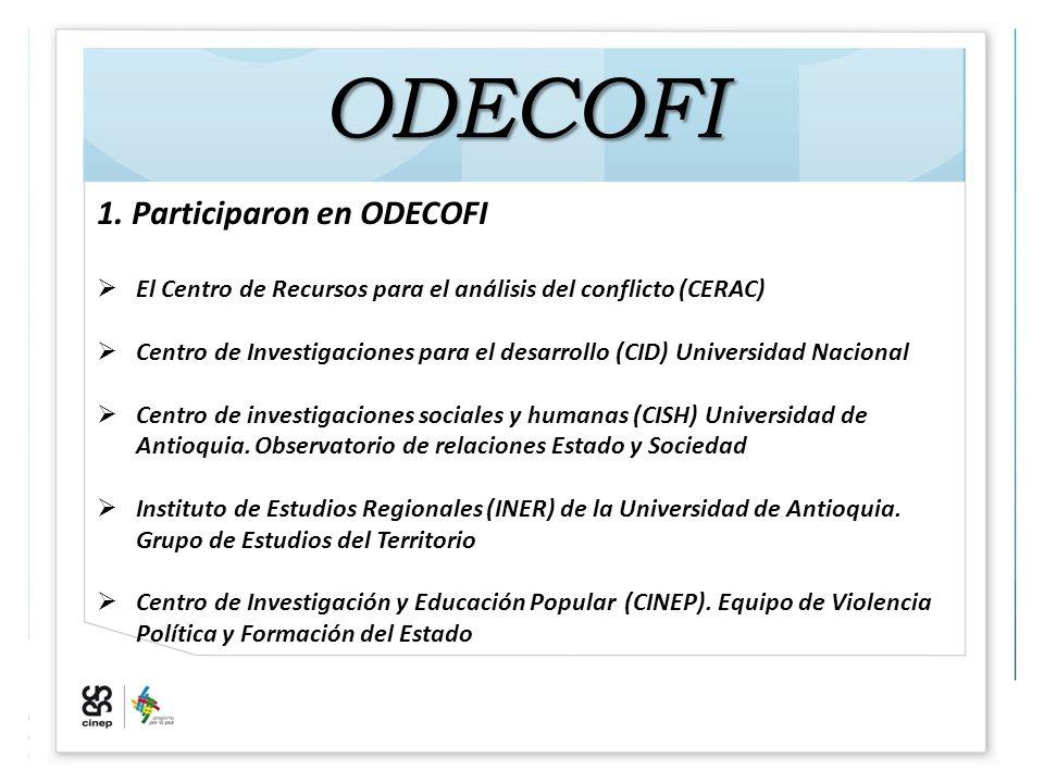 ODECOFI 1.