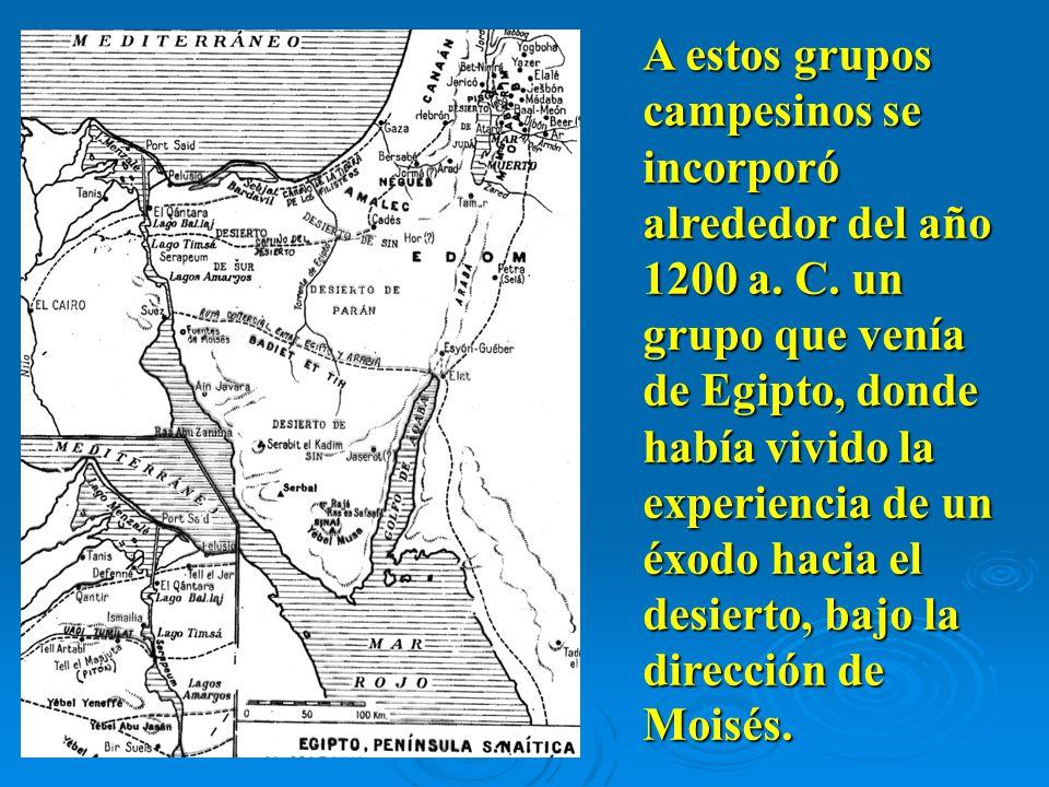 A estos grupos campesinos se incorporó alrededor del año 1200 a.