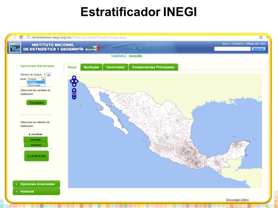 Estratificador INEGI