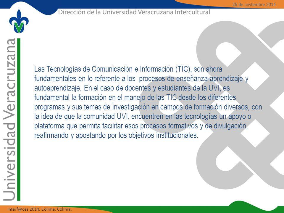 Las Tecnologías de Comunicación e Información (TIC), son ahora fundamentales en lo referente a los procesos de enseñanza-aprendizaje y autoaprendizaje.