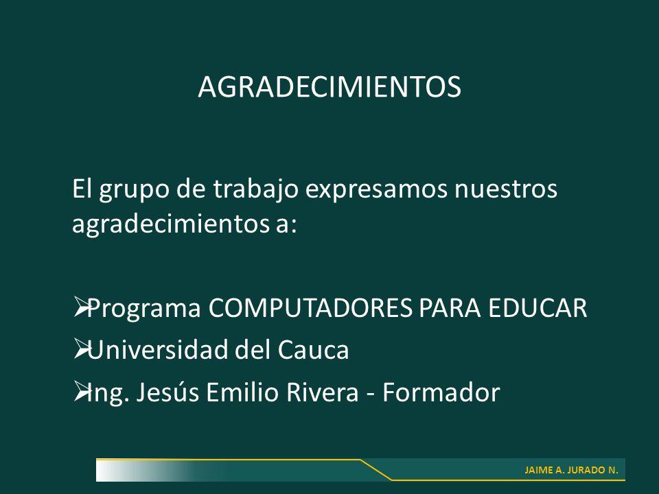 JAIME A. JURADO N.